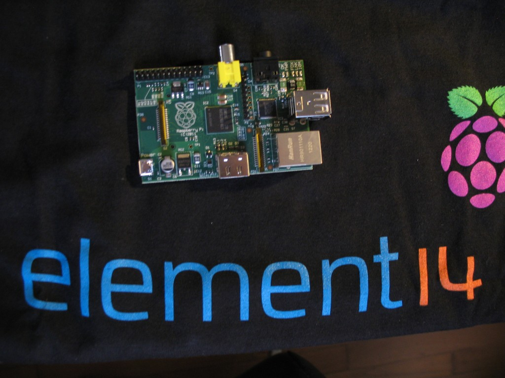Raspberry Pi & T-shirt